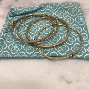 Kendra Scott Set of 4 Bangle Bracelets